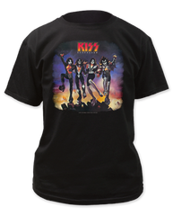 KISS Destroyer Black Short Sleeve Adult T-shirt