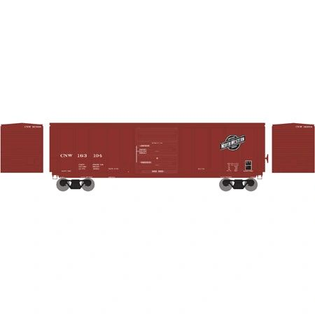 Athearn RTR 50' PS 5277 Boxcar Chicago & Northwestern