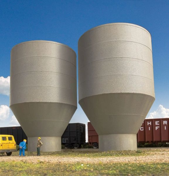 Walthers Cornerstone HO Scale Pulp Tanks - Superior Paper