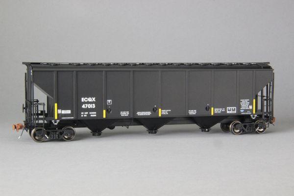 Ho Scale Scaletrains Rivet Counter Equa-Chlor/EQCX Thrall 4727 Carbon Black Hoppers