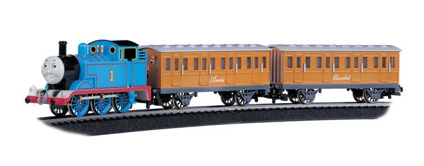 Bachamann Ho Scale Thomas w/Annie & Clarabel Train Set - Thomas & Friends