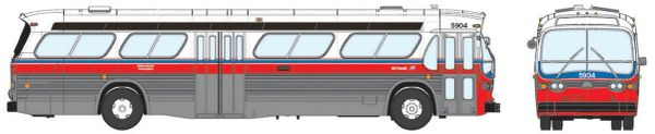 Ho Scale Rapido BC Transit GMC Bus Standard Edition