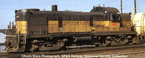 Bowser HO Scale RS-3 Spokane Portland & Seattle DCC & Sound *Pre-order*