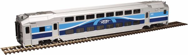 Atlas Ho Scale Agence métropolitaine de transport Multi-Level Cab Car