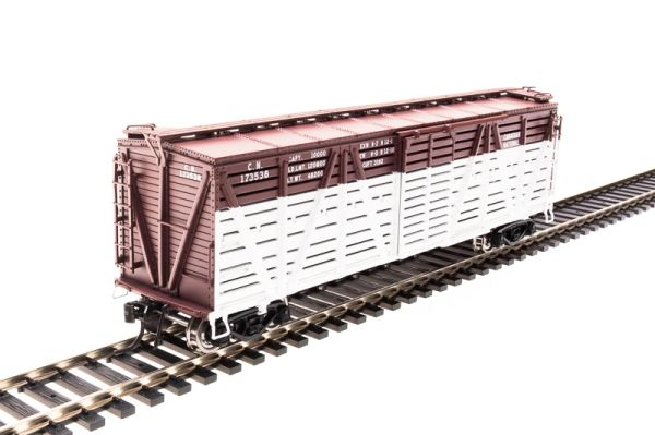 Broadway Limited HO Scale #2529 Stock Car 4-pack Canadian National