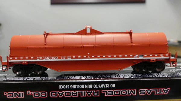Atlas Ho Scale 42' Coil Steel Cars Canadian Pacific