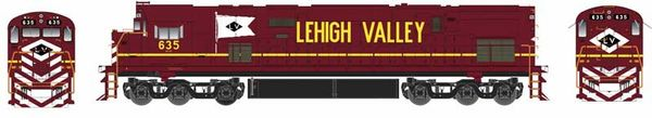 Bowser Ho Scale C628 Lehigh Valley Cornell Red Scheme DCC & Loksound *Pre-Order*