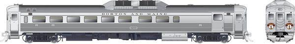 Rapido Ho Scale RDC-2 Phase 1C Boston & Maine (Minuteman) DCC W/Sound