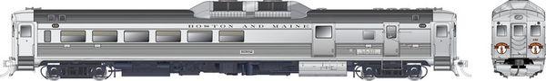 Rapido Ho Scale RDC-3 Phase 1C Boston & Maine (Minuteman) DCC W/Sound