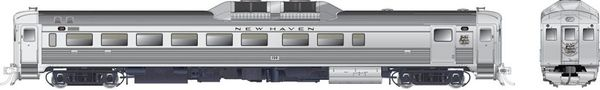 Rapido Ho Scale RDC-2 Phase 1B New Haven (Script) DCC Ready