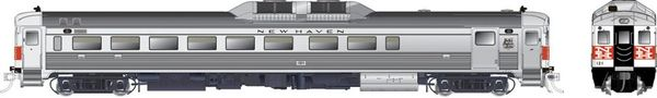 Rapido Ho Scale RDC-2 Phase 1B New Haven (McGinnis) DCC Ready