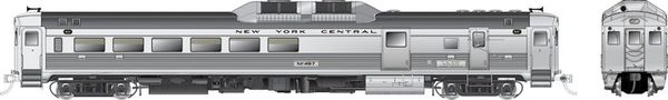 Rapido Ho Scale RDC-3 Phase 1B New York Central (Early) DCC & Sound