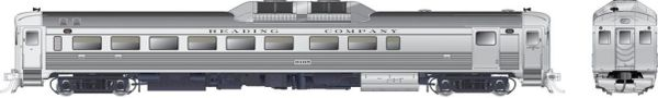 Rapido Ho Scale RDC-2 Phase 1C Reading DCC Ready