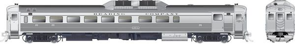 Rapido Ho Scale RDC-2 Phase 1C Reading DCC W/Sound