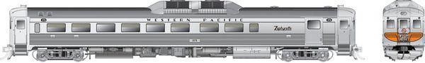 Rapido Ho Scale RDC-2 Phase 1B Western Pacific (Zephyrette) DCC Ready