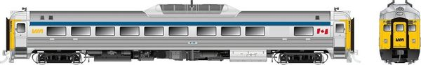 Rapido Ho Scale RDC-1 Phase 2 VIA Rail Canada (Blue Stripe) DCC Ready