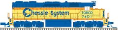 Atlas Ho Scale SD35 Chessie System (Torco) DCC & Loksound *Pre-Order*