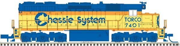 Atlas Ho Scale SD35 Chessie System (Torco) DCC & Loksound