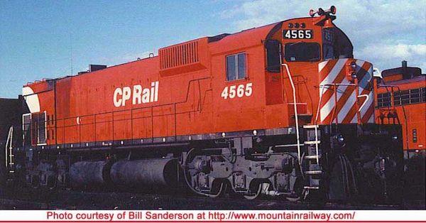 "Bowser Ho Scale M630 CP Rail 8"" Stripe W/O Water Tank, W/Ditchlights DCC & Sound *Pre-order*"
