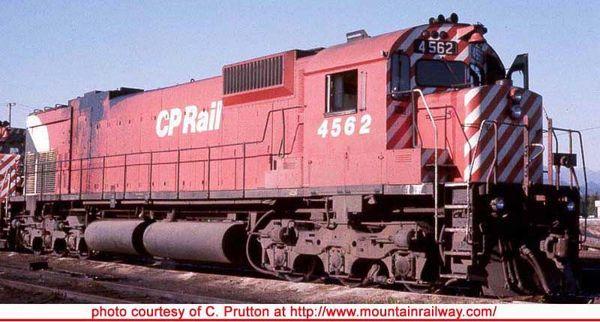 "Bowser Ho Scale M630 CP Rail 5"" Stripe W/ Water Tank & Ditchlights DCC Ready *Pre-order*"