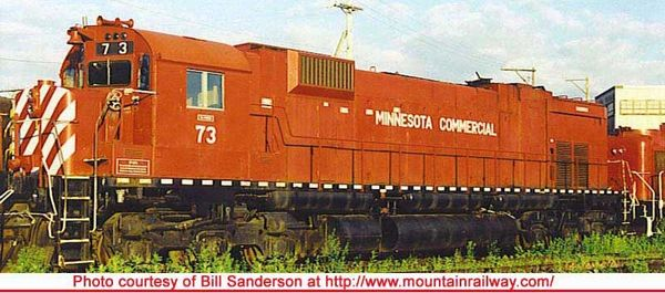 Bowser Ho Scale M630 Minnesota Commercial EX CP Rail #4573 W/Ditchlights DCC Ready *Pre-order*
