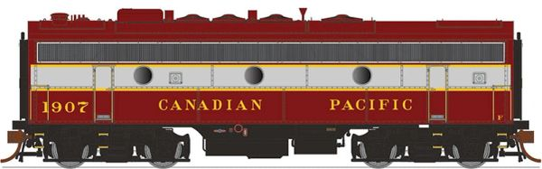 Rapido Ho Scale F7B/F9B Canadian Pacific (Block Lettering) DCC & Sound