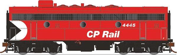 """Rapido Ho Scale F7B/F9B CP Rail 8"""" Stripe DCC & Sound *Pre-order*"""