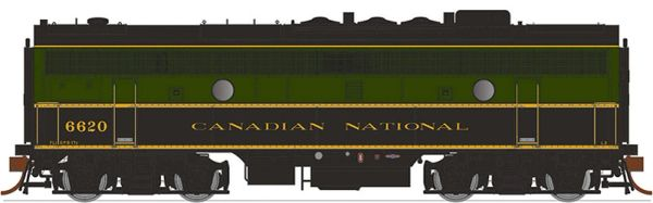 Rapido Ho Scale F9B Canadian National (Delivery Paint) DCC & Sound