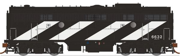 Rapido Ho Scale F9B CN (Striped Paint) DCC & Sound *Pre-order*