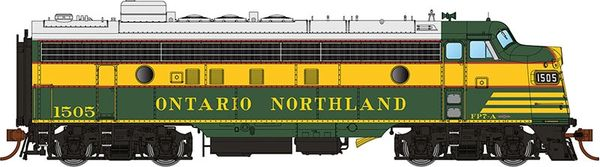 Rapido Ho Scale FP7 Ontario Northland (Early Green) DCC & Sound
