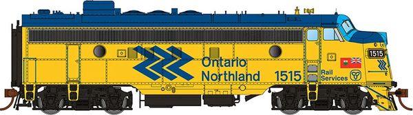 Rapido Ho Scale FP7 Ontario Northland (Chevron) DCC & Sound