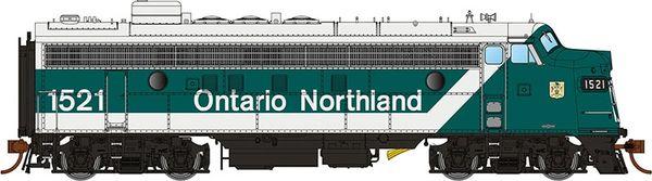 Rapido Ho Scale FP7 Ontario Northland (Progressive Scheme) DCC & Sound