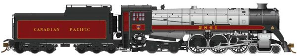 Rapido Ho Scale Royal Hudson CPR CLASS H1e DCC & Sound