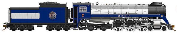 Rapido Ho Scale Royal Hudson 1939 Royal Train CLASS H1d DCC & Ready