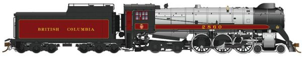 Rapido Ho Scale Royal Hudson British Columbia Railway CLASS H1e DCC Ready