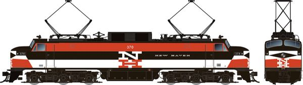 Rapido HO Scale EP-5 Electric New Haven Delivery (No Vents) DCC Ready *Pre-order*