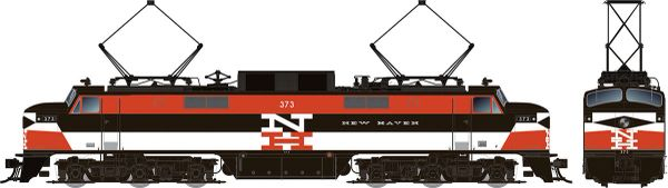 Rapido HO Scale EP-5 Electric New Haven Delivery (W/ Vents) DCC Ready *Pre-order*