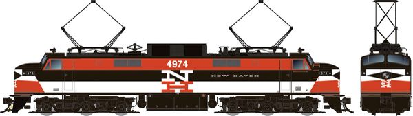 Rapido HO Scale EP-5 Electric Penn Central – New Haven Repaint (W/ Vents) DCC Ready *Pre-order*