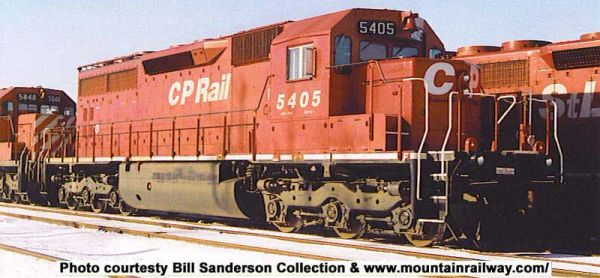 Bowser Ho Scale SD40 CP Rail Candy Apple Red w/out Flags W/ Ditchlights DCC Ready *Pre-order*