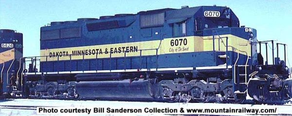 Bowser Ho Scale SD40 Dakota, Minnesota & Eastern W/ Ditchlights, DCC & Sound *Pre-order*
