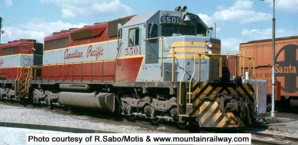 Bowser Ho Scale SD40 SD40 Canadian Pacific Script (Small Rear Number's) DCC Ready *Pre-order*