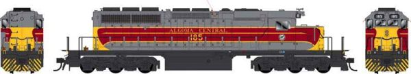 Bowser Ho Scale SD40-2 (3rd Release) Algoma Central DCC & Sound