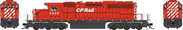 Bowser Ho Scale SD40-2 (3rd Release) CP Rail No Multimark Scheme DCC & Sound *Pre-order*