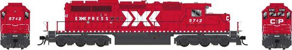 Bowser Ho Scale SD40-2 (3rd Release) CP Expressway Scheme DCC & Sound *Pre-order*