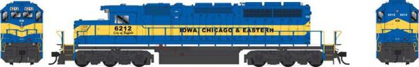 Bowser Ho Scale SD40-2 (3rd Release) Iowa, Chicago & Eastern (Ex CP) DCC Ready *Pre-order*