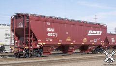 Ho Scale Scaletrains Rivet Counter Gunderson 5188cf Covered Hopper, BNSF