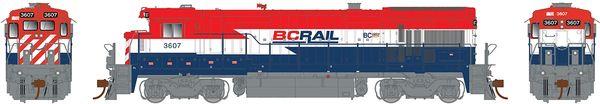 Rapido Ho Scale B36-7 BC Rail DCC Ready