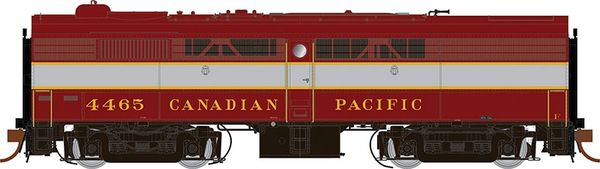 Rapido Ho Scale FB-2 Canadian Pacific (Block Lettering) DCC & Sound