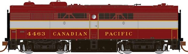 Rapido Ho Scale FPB-2 Canadian Pacific (Block Lettering) DCC & Sound *Pre-order*