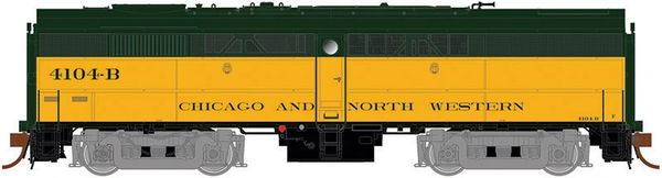 Rapido Ho Scale FB-2 Chicago and North Western DCC & Sound *Pre-order*